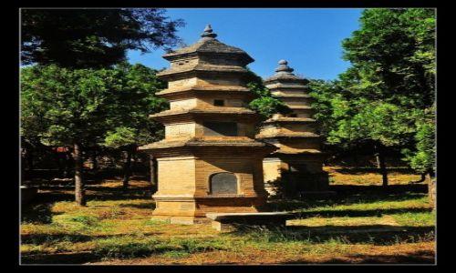 Zdjęcie CHINY / prowincja Henan / Shaolin / Wspomnienie po mistrzach