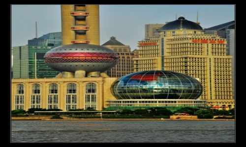 Zdjecie CHINY / Szanghai / Pudong/Szanghai / Perła Orientu i Perła...