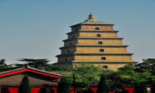 Zdjęcie CHINY / prowincja Shanxi / Xi\'an / Pagoda