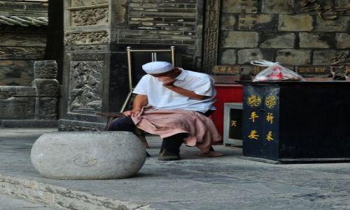 Zdjęcie CHINY / prowincja Shaanxi / Xi'an / Niech żyje nam górniczy stan...
