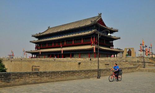 Zdjęcie CHINY / prowincja Shaanxi / Xi'an / Mury Xi'an
