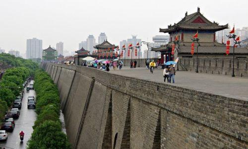 Zdjęcie CHINY / Shaanxi / Xi'an / Mury miejskie
