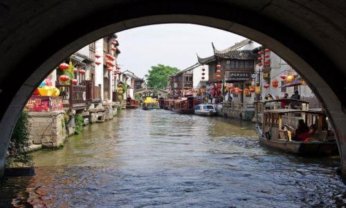 Zdjęcie CHINY / Jiangsu / Suzhou / Na kanale...