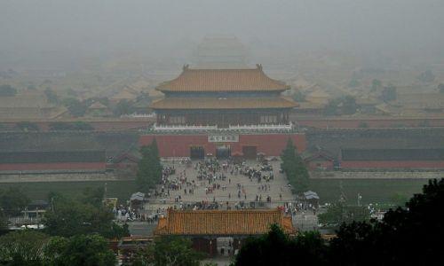 Zdjecie CHINY / Pekin / Pekin / Zadyma