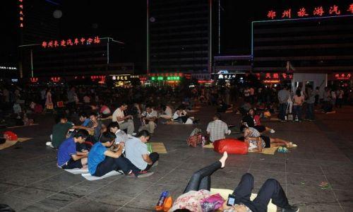Zdjecie CHINY / Chiny / Nie pamiętam / Dworzec