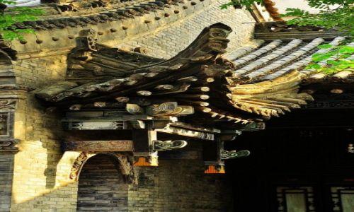 Zdjęcie CHINY / Prowincja Shanxi / Xi'an / Detal