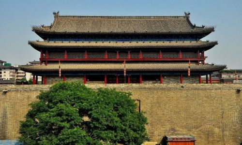 Zdjecie CHINY / Prowincja Shanxi / Xian / Mury
