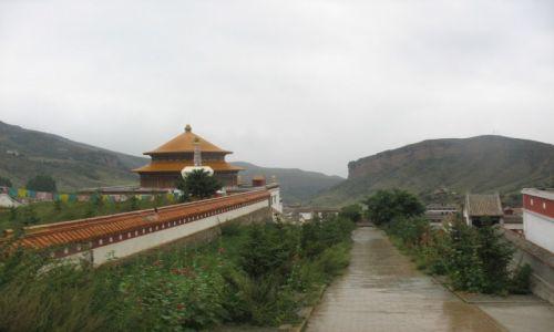 Zdjecie CHINY / Mongolia Wewnętrzna / Alaszan / Klasztor Północny