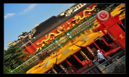 Zdjecie CHINY / Jiangsu / Nankin / Rzeka...