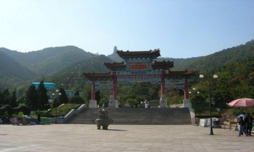 Zdjecie CHINY / Shandong / Yantai / Yantai Ta Mountain Park