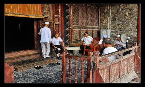 Zdjecie CHINY / Prowincja Shanxi / Xi'an / Bla bla bla