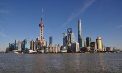 CHINY / Wschodnie Chiny / Szanghai / Patrząc na Bond