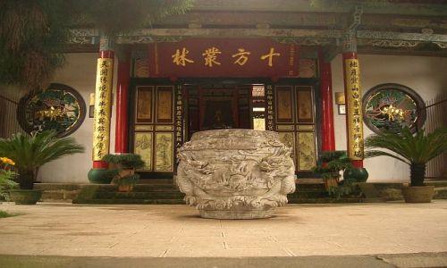 Zdjęcie CHINY / Yunan / Kunming / Świątynia Bambusowa 1