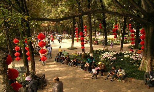Zdjęcie CHINY / Yunan / Kunming / Park Pięknego Widoku