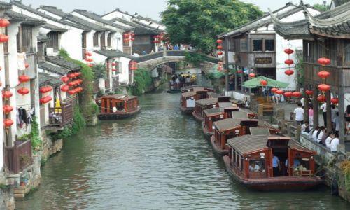 Zdjecie CHINY / prowincja Jiangsu / Suzhou / Wenecja orientu