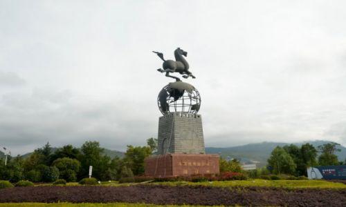 CHINY / Yunnan / Lijiang / Wjazd do Lijiang