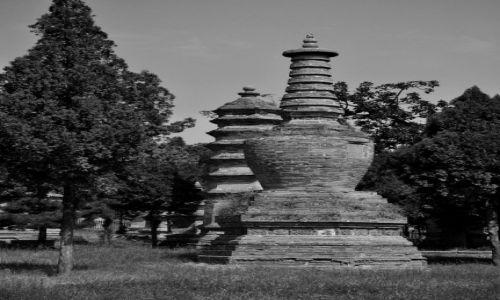 Zdjecie CHINY / prowincja Henan / klasztor Shaolin / RiP