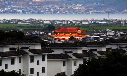 Zdjecie CHINY / Yunnan / Dali / Nocne Dali