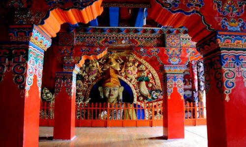 Zdjecie CHINY / Yunnan / Song Zan Lin, Shangri La / w klasztorze