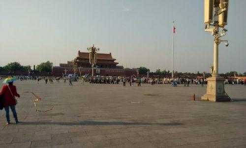 CHINY / Pekin / Pekin / Plac Tiananmen