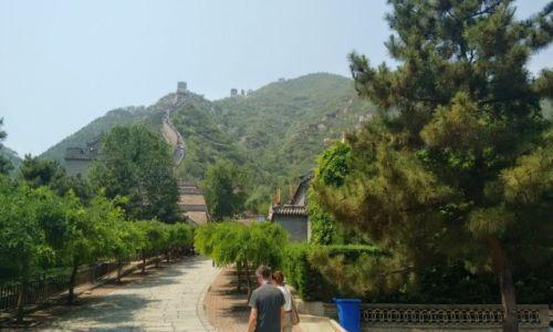 CHINY / Pekin / Pekin / Poczatek drogi na mur