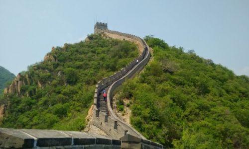 CHINY / Pekin / Pekin / Polowa drogi na mur