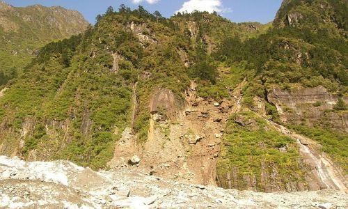 Zdjecie CHINY / Syczuan / Moxi / Hailuogou - park lodowców 2