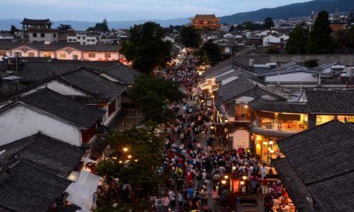 Zdjecie CHINY / Yunnan / Dali / Starówka, widok na jedną z bram