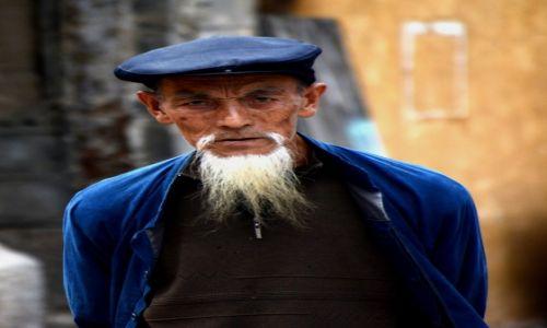 Zdjecie CHINY / Yunnan / Zhou Cheng, okolice Dali / I dziadek na osłodę (z ludu Bai oczywiście)