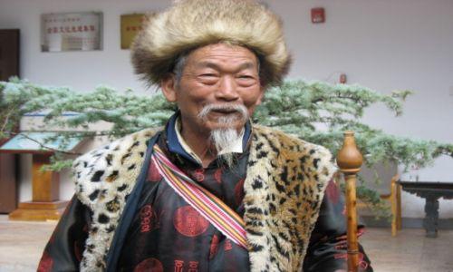 Zdjecie CHINY / - / Yunnan / Szaman NAXi