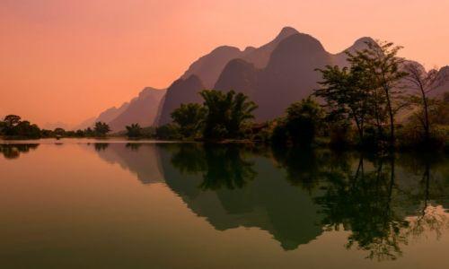 Zdjęcie CHINY / Guizhou / Yangshuo / Yangshuo - Yulong River