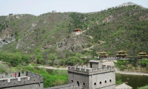 Zdjecie CHINY / Na p�noc od Piekinu / Badaling / Wielki mur