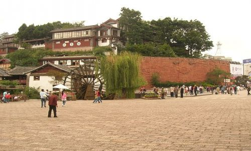 CHINY / Yunan / Lijiang / stare miasto 2