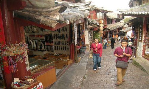 CHINY / Yunan / Lijiang / stare miasto 3