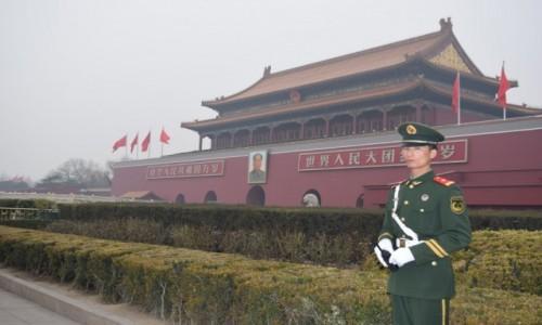 Zdjecie CHINY / Pekin / Pekin / Mauzoleum Mao Zedonga