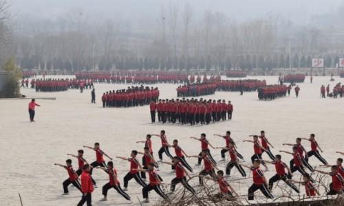 Zdjęcie CHINY / Luoyang / Shaolin / Każdy chce być jak Bruce Lee