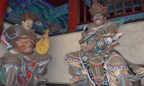 Zdjecie CHINY / Luoyang / Shaolin / Klasztor Shaolin