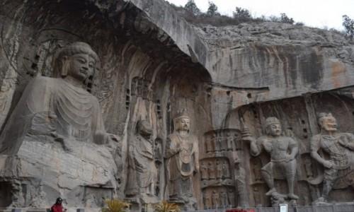 Zdjecie CHINY / Luoyang / Luoyang / Groty Longmen
