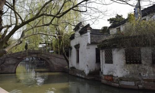Zdjęcie CHINY / Szanghaj / Zhouzhuang / Zhouzhuang -Wodne miasto