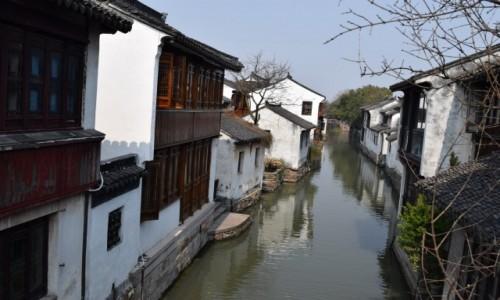 Zdjecie CHINY / Szanghaj / Zhouzhuang / Zhouzhuang -Wodne miasto