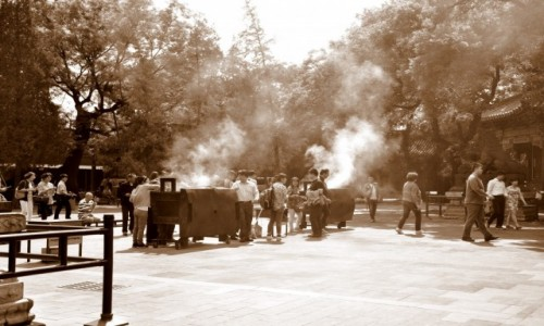 Zdjęcie CHINY / Beijing / Beijing / Świątynia