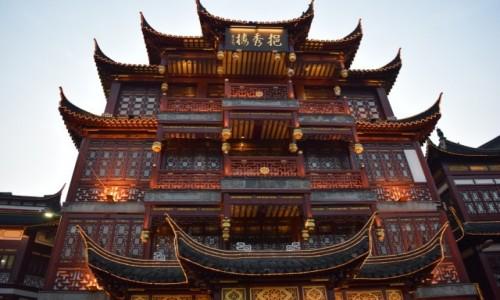 Zdjecie CHINY / Szanghaj / Szanghaj / Ulice Szanghaju
