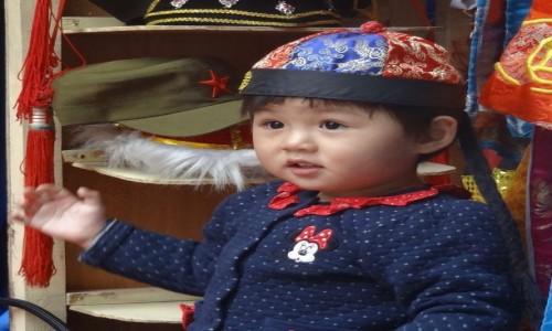 Zdjecie CHINY / - / PEKIN / chi�skie dzieci