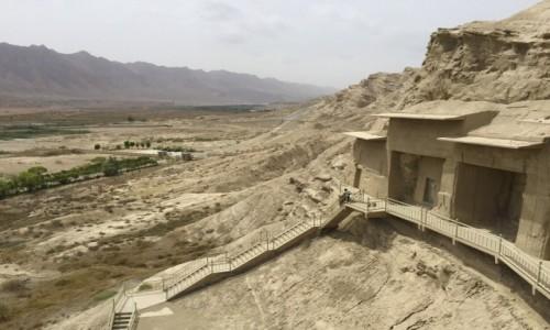 Zdjecie CHINY / Xinjiang / Kucha / Kizil Caves