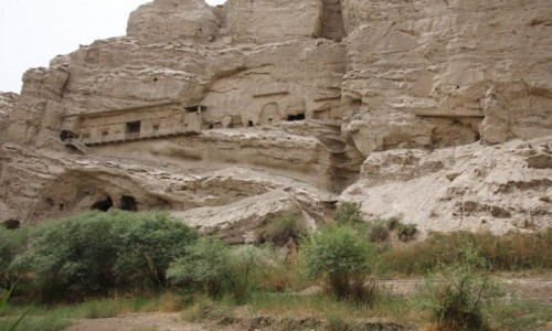 Zdjecie CHINY / Xingjiang / Kucha / Kizil Caves