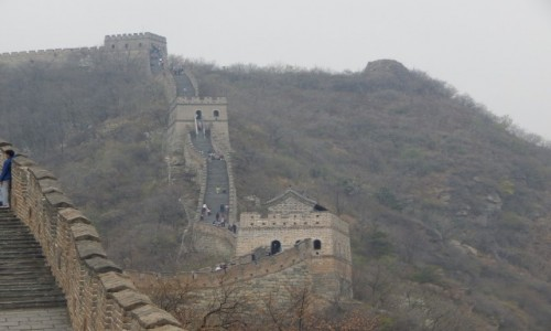 Zdjecie CHINY / - / Wielki Mur Chinski / .