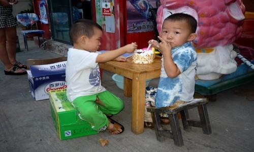 Zdjęcie CHINY / Chiny / Nieznane / Urodziny
