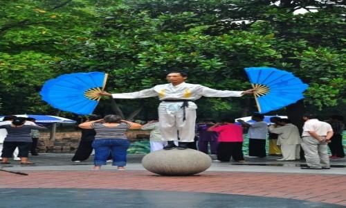 Zdjęcie CHINY / Nankin / Nankin / Człowiek motyl