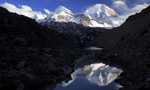 Zdjęcie CHINY / Shakskam Karakoram / Lodowiec K2 / Na Lodowcu K2