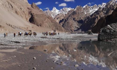 Zdjęcie CHINY / Shakskam Karakoram / Dolina Shakskam / Dolina Shakskam w drodze do K2